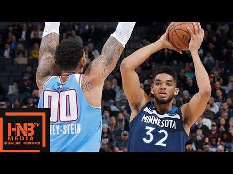Minnesota Timberwolves vs Sacramento Kings Full Game Highlights / Feb 26 / 2017-18 NBA Season