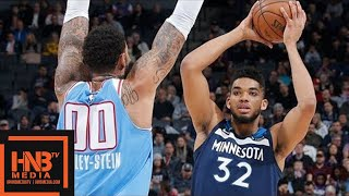 Minnesota Timberwolves vs Sacramento Kings Full Game Highlights / Feb 26 / 2017-18 NBA Season