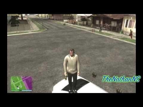 GTA SA - GTA V Wasted/Busted Sound Mod (Next Gen)