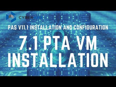 CyberArk PAS (PTA) Installation - Part 5