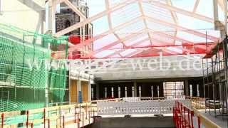 Arsenal-Einkaufszentrum Wittenberg - Tag der offenen Baustelle