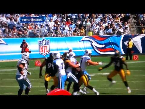 Steelers Flip Vince Young and Body Slam Him