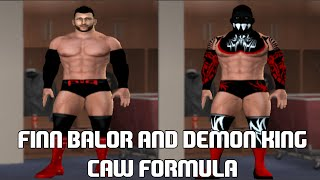 WWE FINN BALOR AND DEMON KING CAW FORMULA SVR 11 PS2