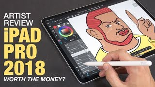 Artist Review: iPad Pro 2018 with Apple Pencil 2