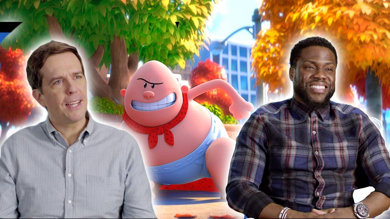 Captain Underpants The First Epic Movie Cast Interviews 2017