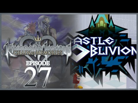 "Kingdom Hearts Re: Chain of Memories HD w/ Shady - ""Castle Oblivion!"""