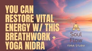 Short 30 Minute Breathwork W/ Yoga Nidra And Outstanding 4K Visuals