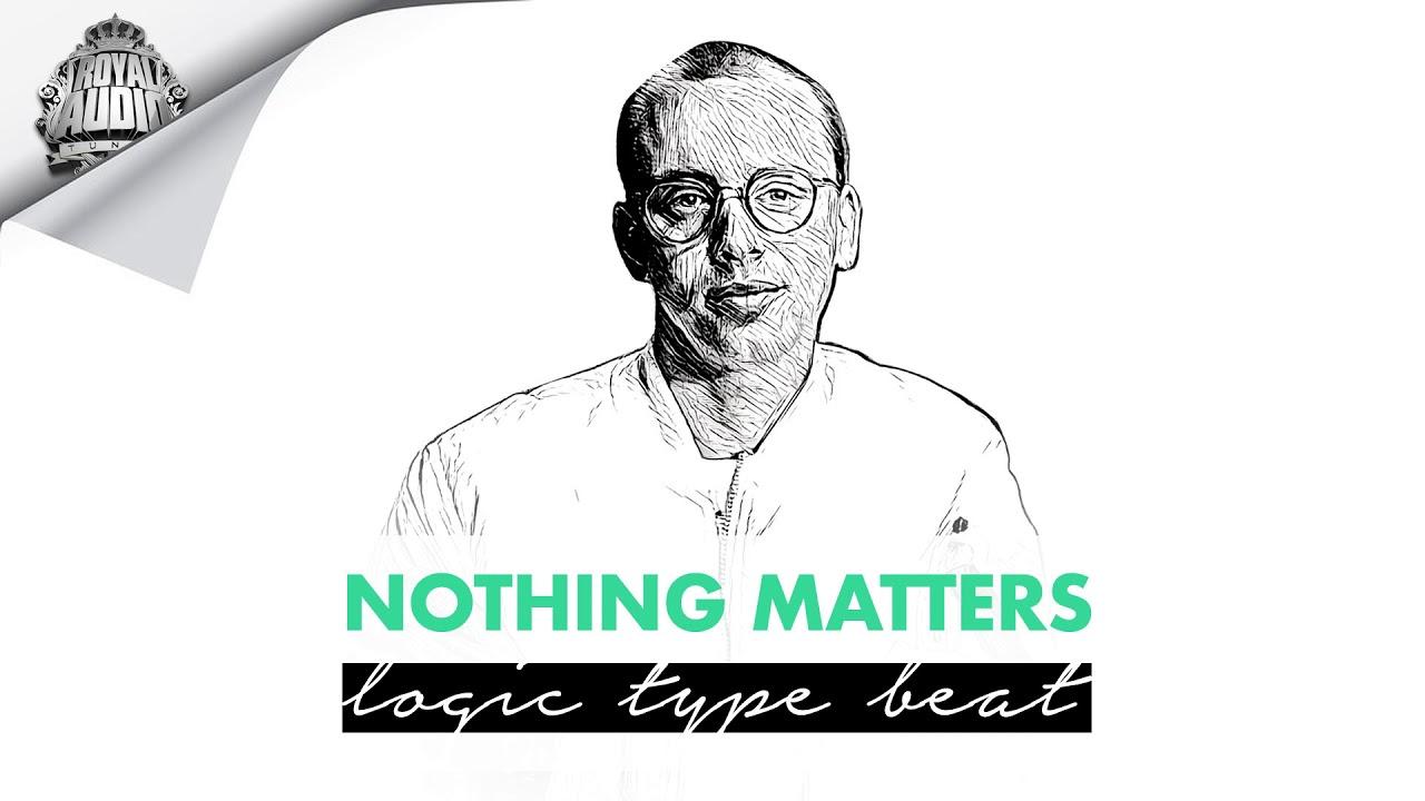 """(FREE) Logic Type Beat 2020 """"NOTHING MATTERS""""   Nipsey Hussle Type Beat Rap Instrumental"""