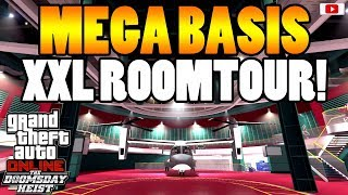 😵MEGA BASIS Tuning + XXL RoomTour!😵 [GTA 5 Online Doomsday Heist Update DLC]