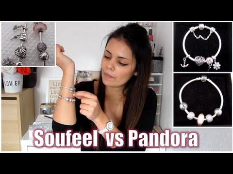 Pulsera Soufeel Vs Pandora Review Youtube