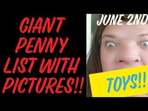 GIANT Dollar General Penny List With Pictures!! June 2nd 2020