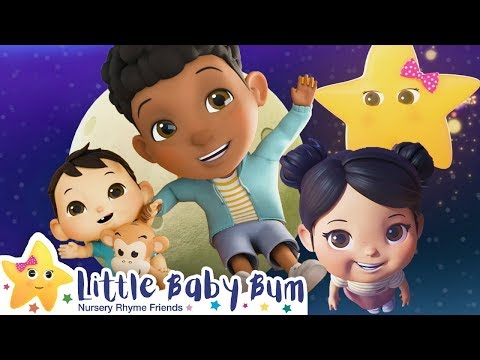 Jumping on The Moon Song | Nursery Rhymes | Baby Songs | Kids Song | Little Baby Bum