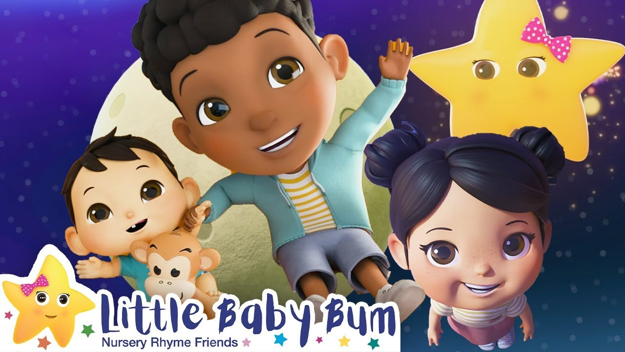 Jumping on The Moon Song | Nursery Rhymes | Baby Songs | Learn English | Little Baby Bum