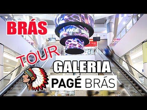 TOUR GALERIA PAGÉ BRÁS - #galeriapagébrás - YouTube