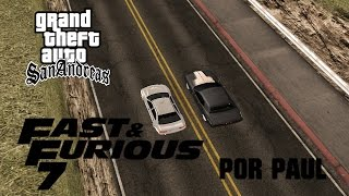 Recreación | GTA SA | Final de Rápidos y Furiosos 7