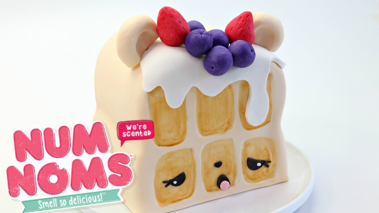 Num Noms Willy Waffle Cake For Kids Youtube