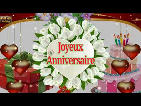 Birthday Wishes in French Greetings Messages Ecard Animation – Happy Birthday Greetings in French