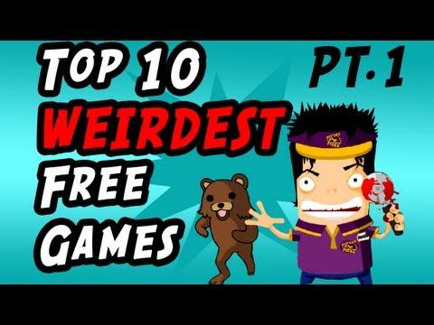 Top 10 Weirdest Free Games Pt.1