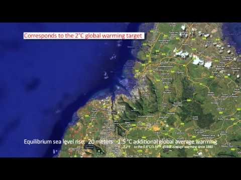 MAURITIUS - SEA LEVEL RISE