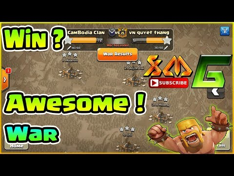 Clash of Clans⭐Watch To Skill For Win in War⭐Awesome Raid 3-Star TH11 !!