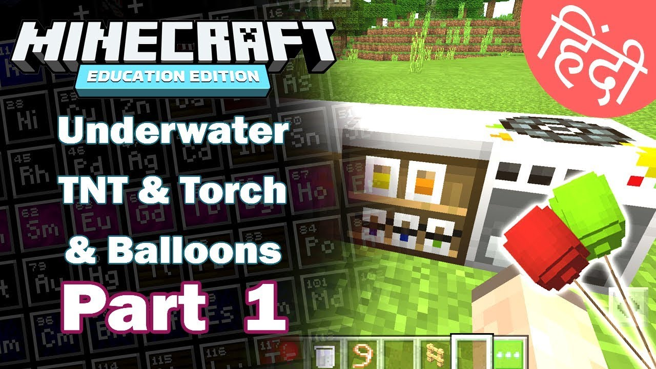 Minecraft Education Edition, How To Make A Chandelier In Minecraft Education Edition