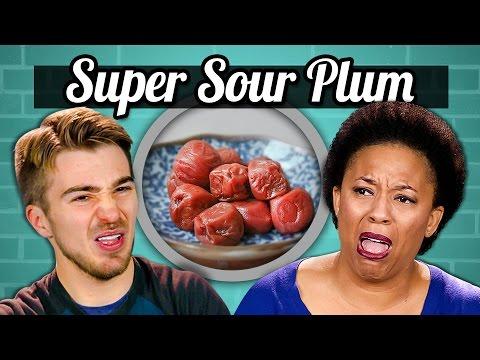 ADULTS vs. FOOD - SUPER SOUR PLUM (UMEBOSHI)
