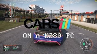 Project CARS on my £280 Console Killer