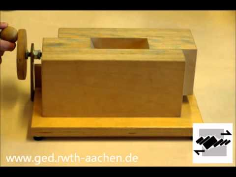 Teaching movie: Pull apart basins (structural geology)