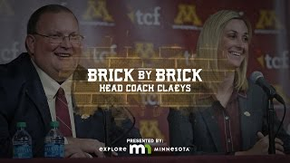 """Head Coach Claeys"" Brick by Brick: Gopher Football 2015 (Episode 11)"