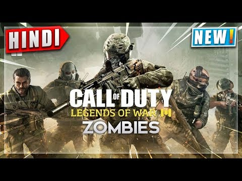 🔥CALL OF DUTY Mobile Zombies Hindi Gameplay   Free Download CALL OF DUTY MOBILE   NoobThedude