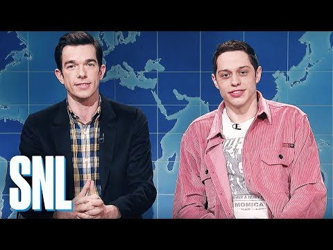 Pete Davidson and John Mulaney talk about their unexpected friendship and give a review of a superhero movie for old people, Clint Eastwood's The Mule.
