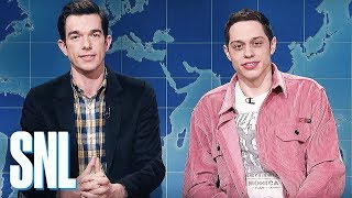 Weekend Update: Pete Davidson & John Mulaney Review Clint Eastwood