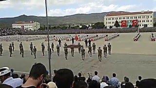 İzmir yeni foça 94/2 er jandarma komando yemin töreni