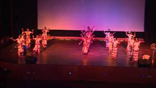 Dance Performance: Vande Mataram (Patriotic Dance) by students of Euro Intl. School