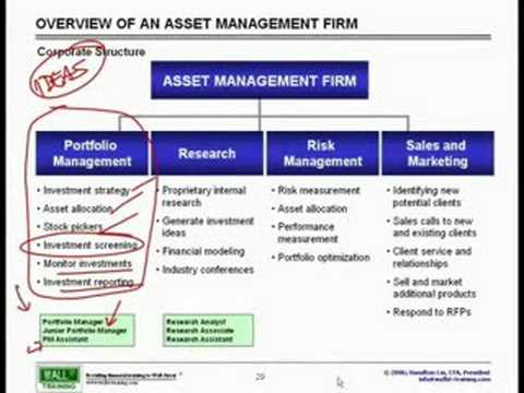 WST: Overview of Financial Mkts - Asset Management Explained