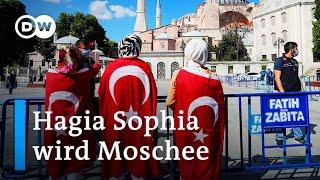 Erdogan per Dekret: Hagia Sophia wird wieder Moschee | DW Nachrichten