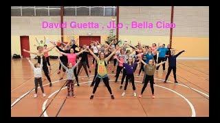 "Warm up Zumba® "" David Guetta, Jennifer Lopez , Bella ciao"" choreo by Steffi (France)"