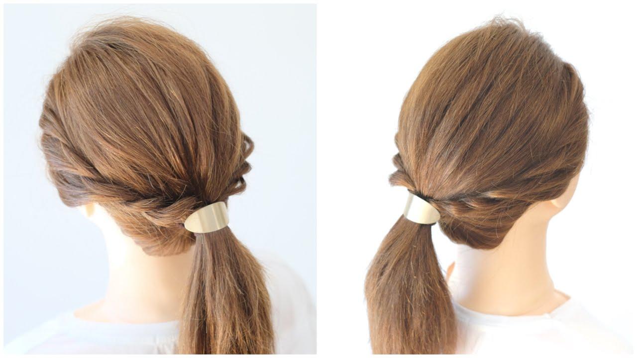 [簡単に出来る]普段使いしやすい一つ結びヘアアレンジ/hair works &SOL ♯96