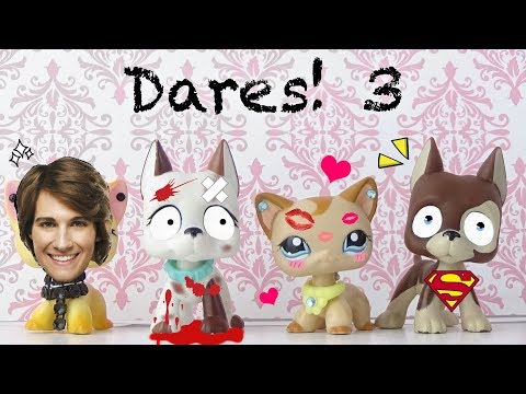 LPS: Dares! Ep. 3 Car Crashes And Lip Smashes