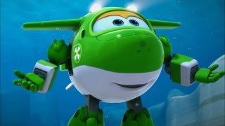 Супер Крылья - Самолетик Джетт и его друзья - Подводные друзья - Мультики для детей (47)