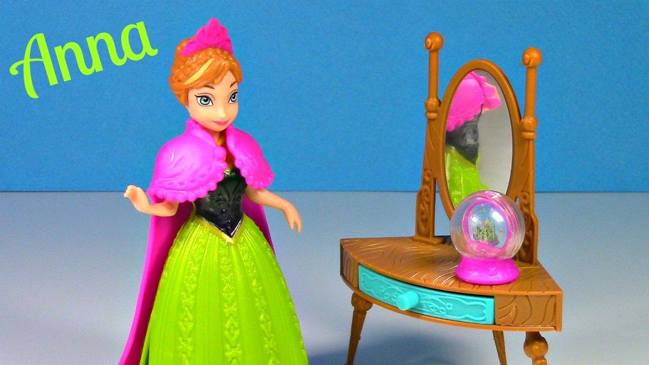 Frozen Princess ANNA Magiclip Doll Coronation Day Disney Frozen Toy Review