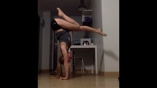 Yoga Handstands and Extreme splits