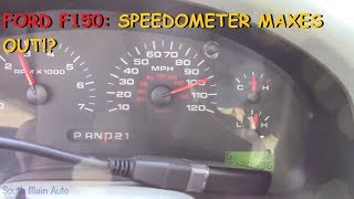 Ford F150: Speedometer MAXES Out While Driving