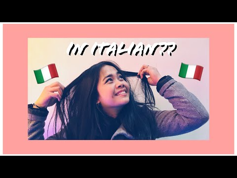 How To Say It In Italian? (Tagalog) | Learn A Language — Shewen ッ
