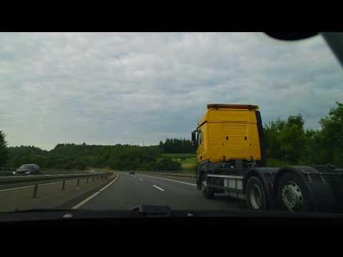 Camera Hành trình Fulda - Frankfurt cao tốc A7 Đức