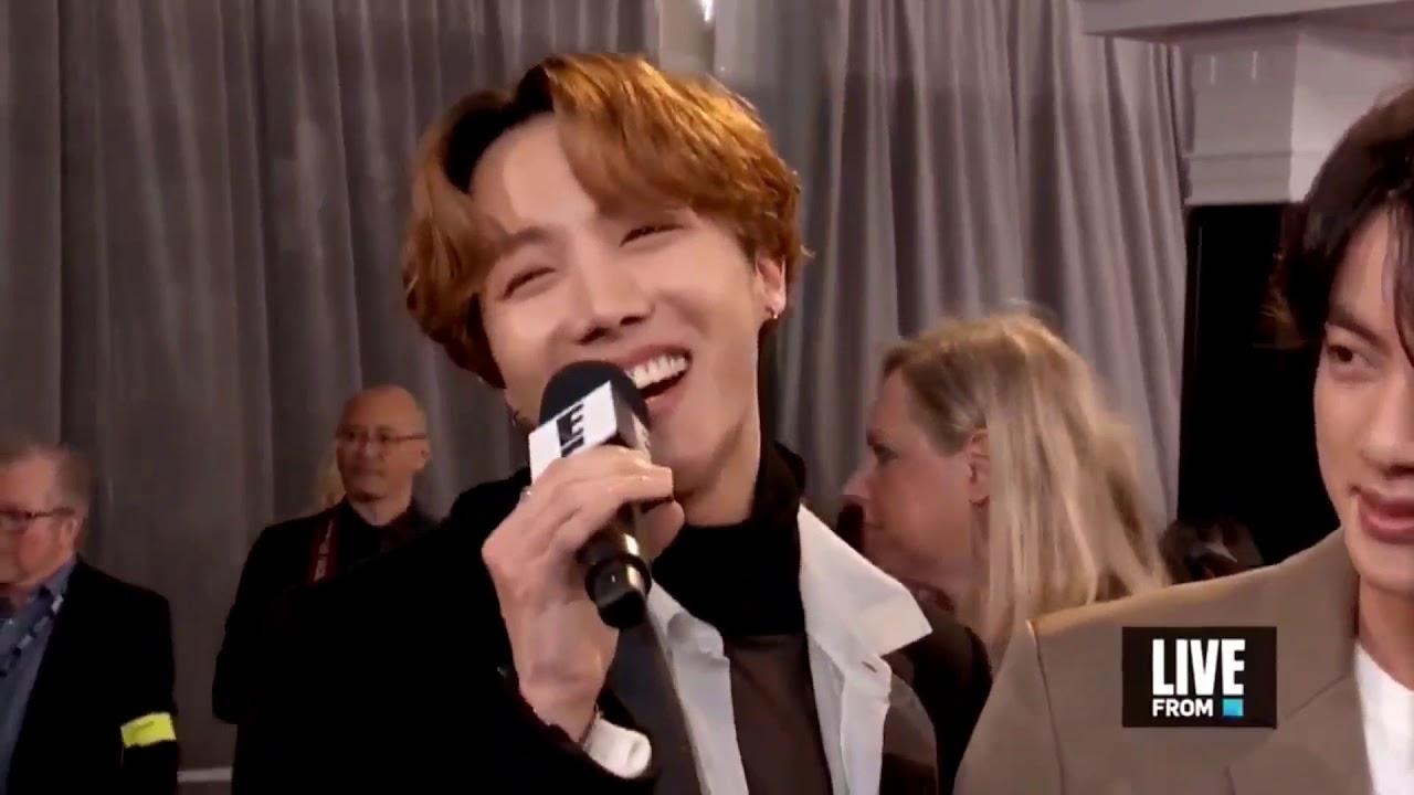 BTS red carpet interview - GRAMMYS 2020