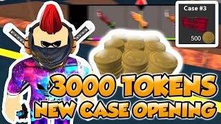 ASSASSIN NEW CASE OPENING | WORST ROBLOX LUCK EVER | 3000 TOKENS SPENT