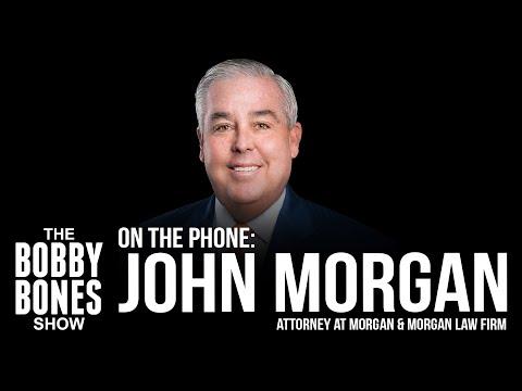 John Morgan Of Morgan & Morgan Answers Law Questions, Eddie Shares His Jingle For Them