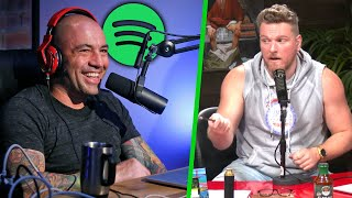 Pat McAfee Reacts To Joe Rogan's GIANT Spotify Deal