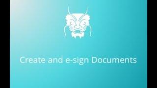 Erstellen und E-sign ein Dokument mit Zegal